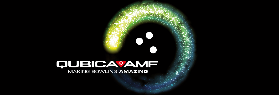 QubicaAMF Making Bowling Amazing black banner future of bowling