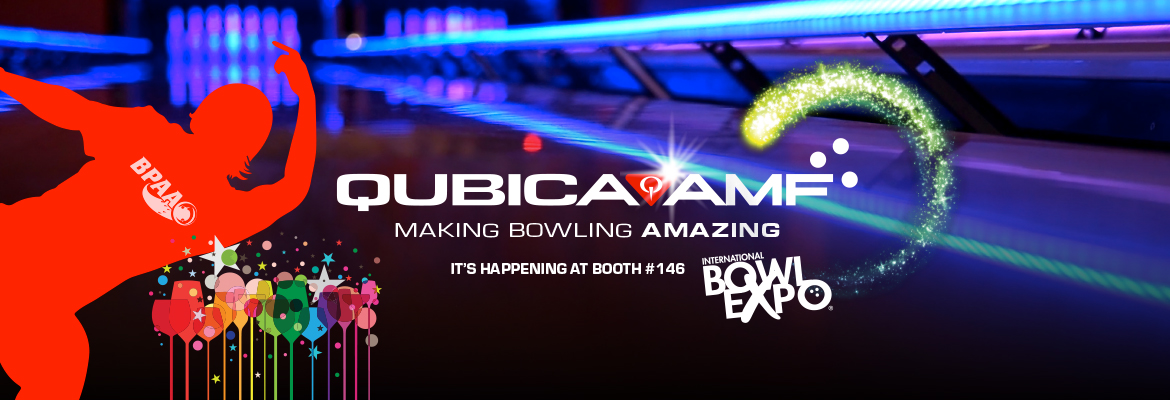 QubicaAMF Bowling BowlExpo 2018 is happening home banner