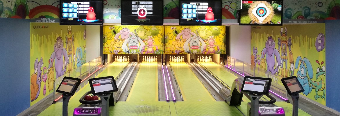 QubicaAMF Highway66 mini bowling Johannesburg