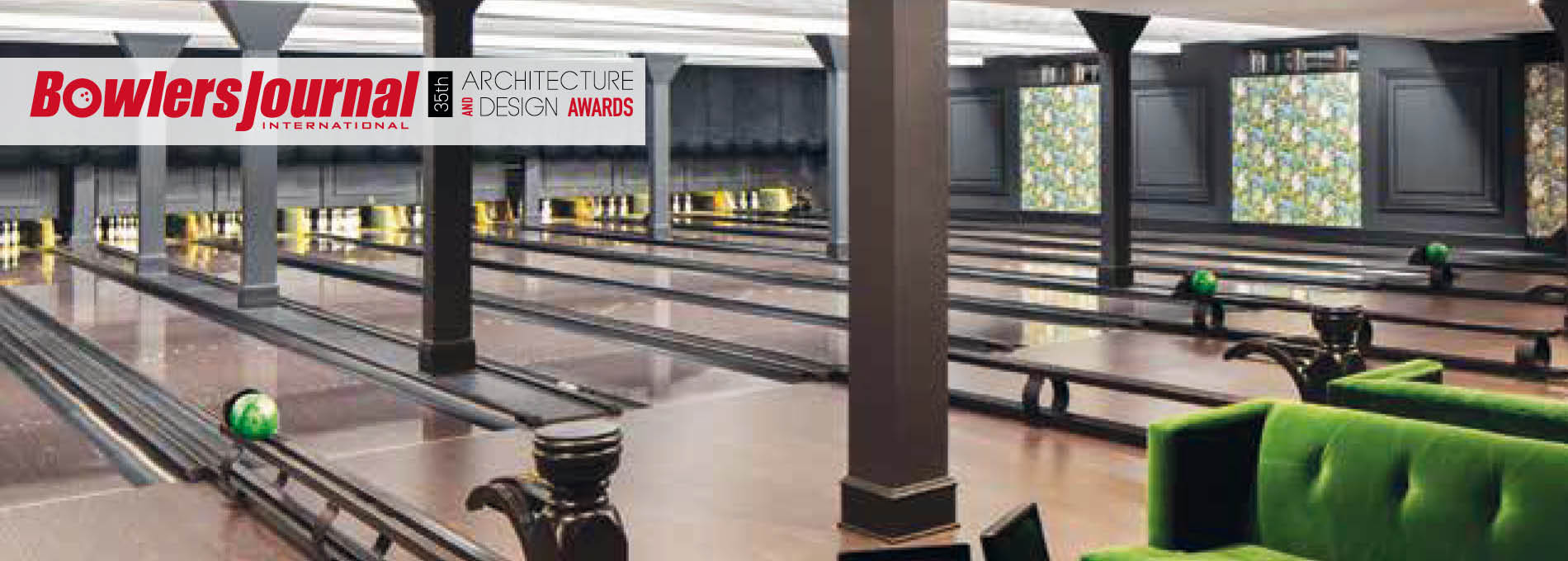 QubicaAMF bowling 35 architectual design awards home banner the lanes at the howard