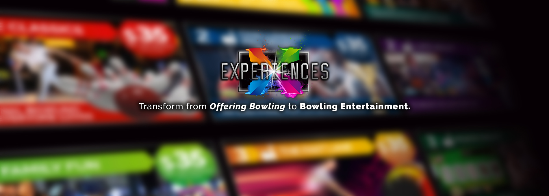 QubicaAMF Bowling BES X Experiences home banner