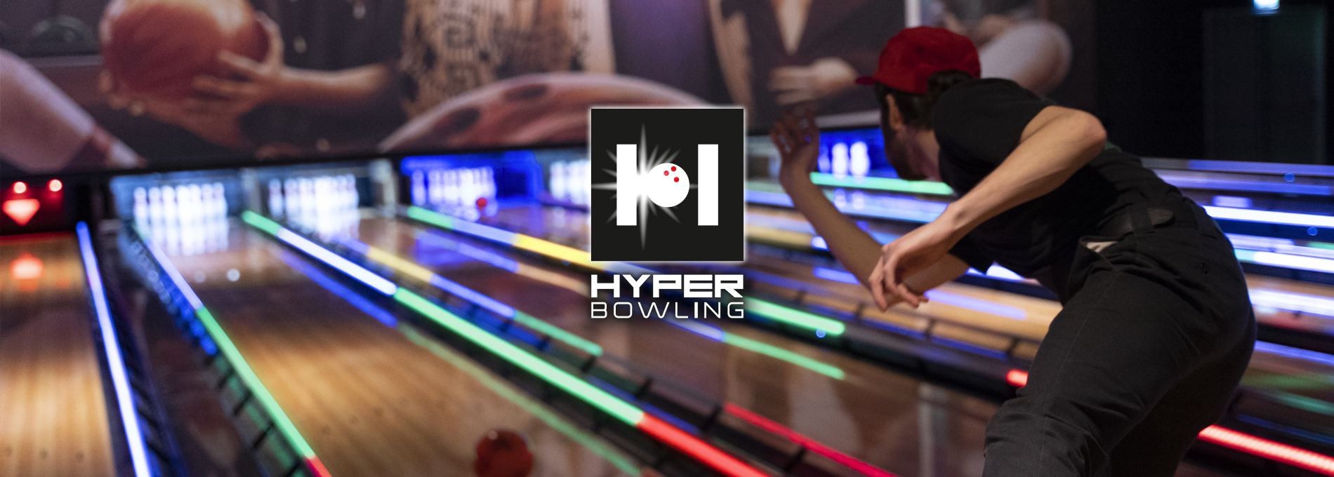 QubicaAMF Bowling HyperBowling Bowl Expo 2019 Banner
