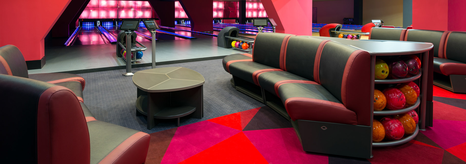 Bowling QubicaAMF Furniture Design Elements Harmony Banner