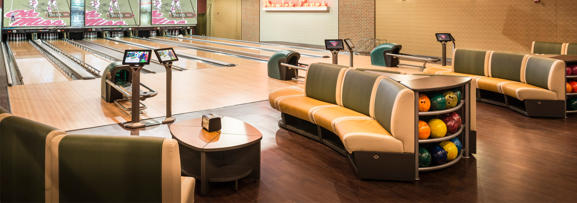 Great Bowling QubicaAMF Furniture Harmony Banner