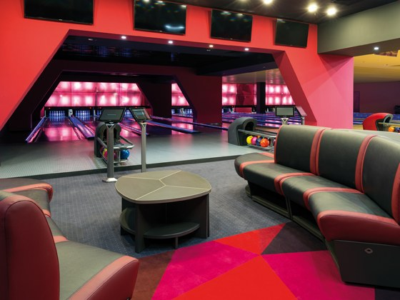 Bowling QubicaAMF Furniture Harmony Masking Collection Economical