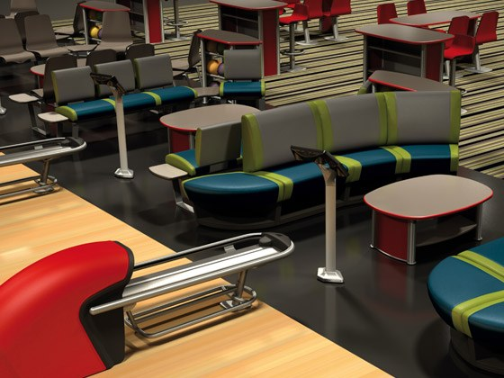 Bowling QubicaAMF Furniture Harmony Three Styles
