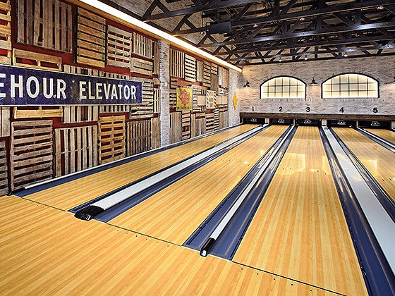 SPL Select Lanes: the Best Looking Classic Bowling Lanes