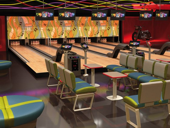 Bowling QubicaAMF Mini The Suite Spot Harmony