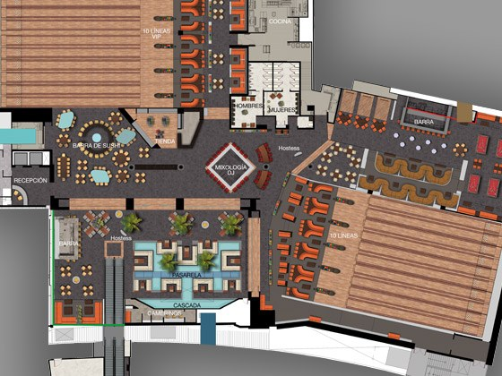 Bowling alley planning qubicaamf Bowling alley floor plans